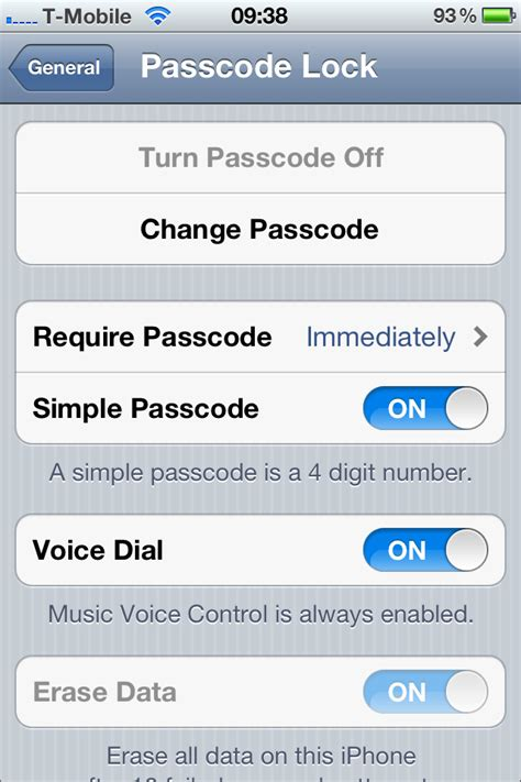 change iphone password how to change your iphone password passcode Chang