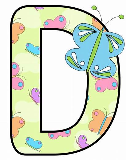 Alphabet Letters Butterfly Clip Mariposas Butterflies Letter
