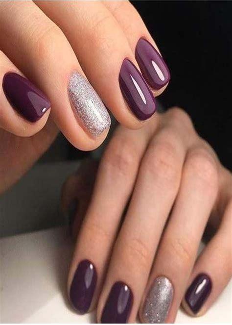prefect  style nails color idea  simple gel nails