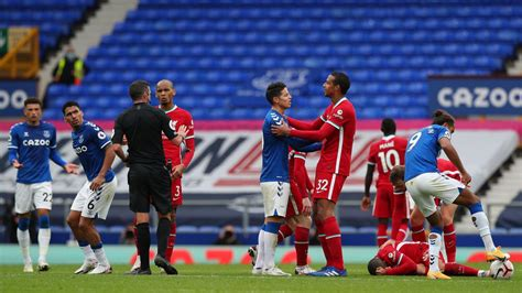 VAR controversy as Liverpool denied victory in Merseyside ...