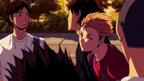 Find 30 images that you can add to blogs, websites, or as desktop and phone wallpapers. Haikyuu GIF - Find & Share on GIPHY