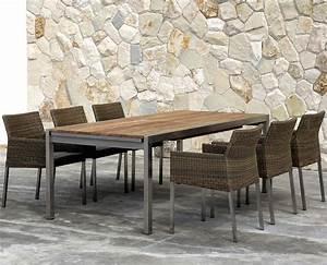 Gartentisch 12 Personen : zebra auszieh esstisch 170 280x90 kubex 7515 old teak artjardin ~ Whattoseeinmadrid.com Haus und Dekorationen