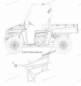 Polaris Side By Side 2011 Oem Parts Diagram For Body  Side