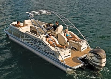 Boat Manufacturers In Indiana by 2012 Bennington 2575 Qcw I O Pontoon Boat Review