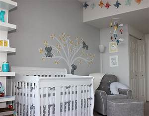baby quotmquot modern gray nursery project nursery With decorer une chambre de bebe