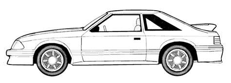 Mustang à Colorier