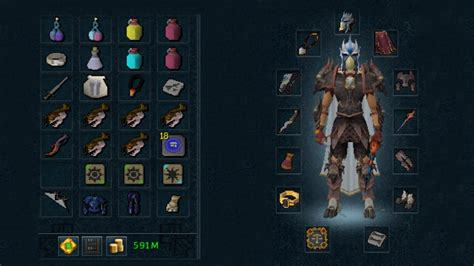 yossy set rs runescape kk gear inventory set up guide