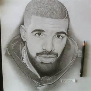 Realistic Drawing Drake