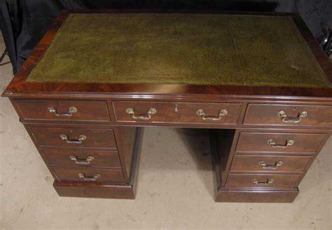 Esl Desk by Edwardian Writing Desk Pedestal Desks