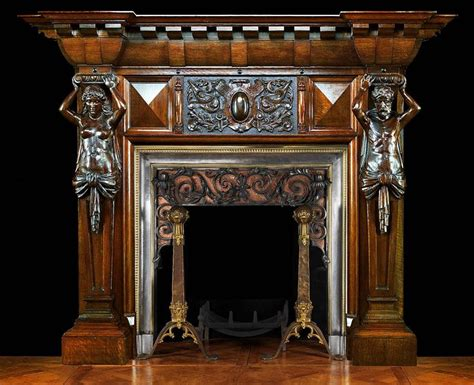 Best + Antique Fireplace Mantels Ideas On Pinterest