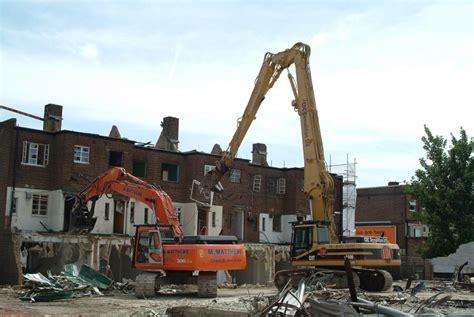 structural demolition london matthews group sussex