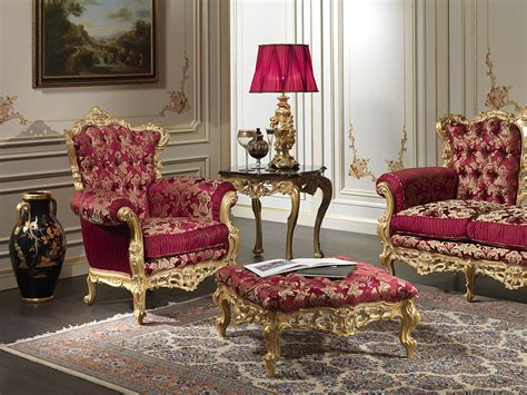 Baroque Armchair Of The Collection Living Room Barocco