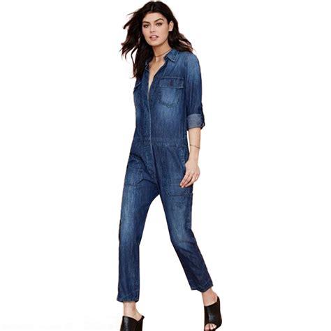 one jumpsuit womens 2016 brand autumn jumpsuit fashion denim