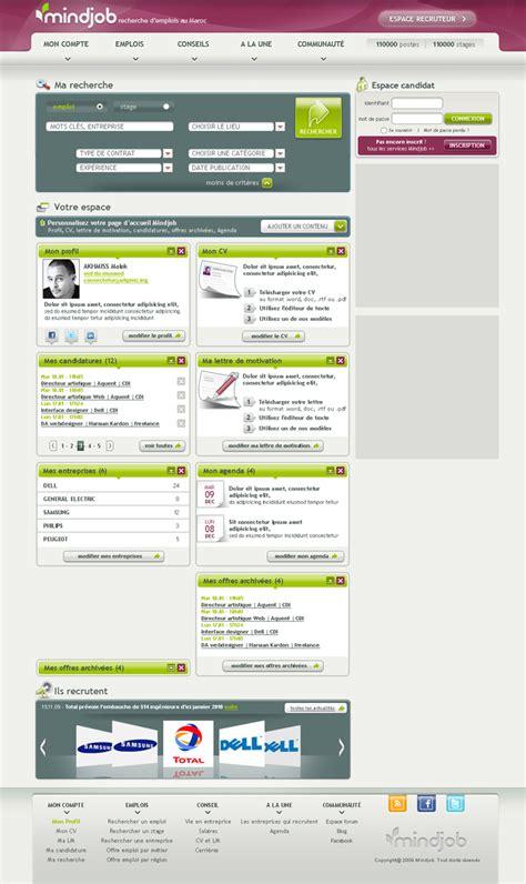 site de recherche d emploi cadre mindjob design l ektric