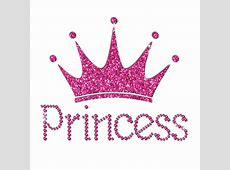 Pink princess crown svg freeuse stock techFlourish