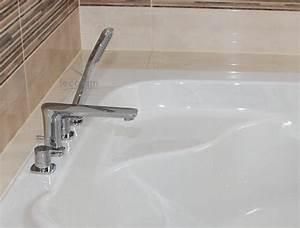 4 Loch Armatur : set badewannenarmatur handbrause badewanne auslauf wannenrand armatur 4 loch h ebay ~ Frokenaadalensverden.com Haus und Dekorationen
