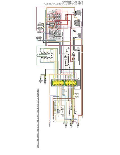 volvo penta 5 7 engine wiring diagram boat volvo boat engine mercury outboard