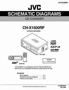 Jvc Ch X1500rf Cd Changer Schematic Diagram Manual