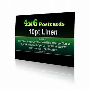 4x6 postcard standard size premium business card for 4x6 business cards
