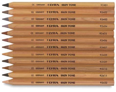 skin tone colored pencils lyra skintone pencils blick materials