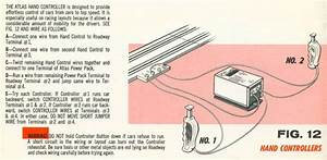 Atlas Two Lane Two Plunger  Ho Scale Slot Car Track Wiring