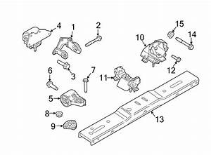 Ford Expedition Mount  Transmission  Liter  Exhaust