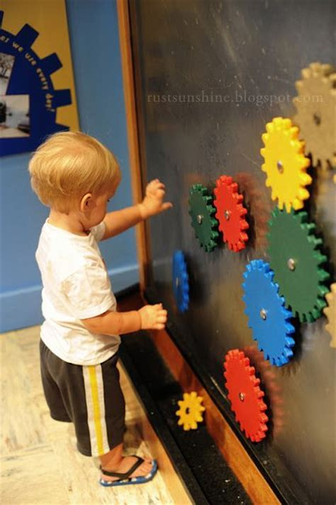 Best 20  Magnetic wall ideas on Pinterest   Kids playroom
