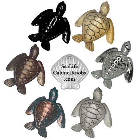 sea turtle cabinet knobs 105 small home decor decorations tren