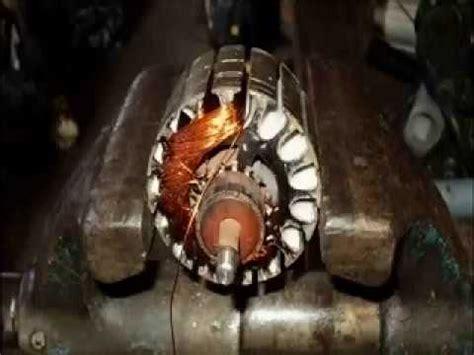 bobinado de un motor corriente continua youtube