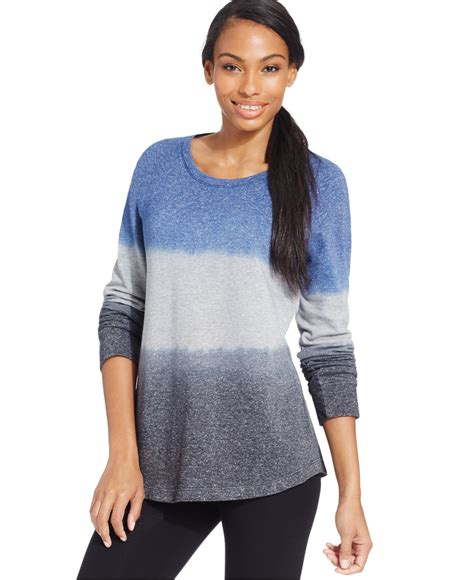 style and co sweaters style co only at macy 39 s in blue lyst
