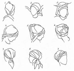9 best wrap lyfe images on pinterest turbans black With scarf tying diagram