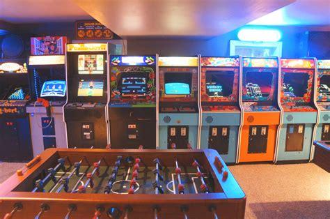 L'arcade Home Interiors : Vintage Vault Classic Arcade And Gameroom