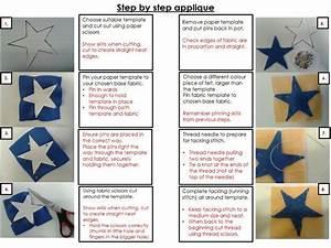 Appliqu U00e9 Step By Step Instructions