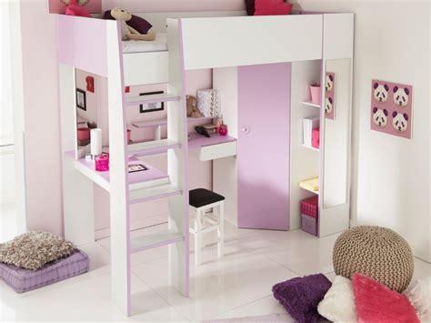 lit mezzanine avec armoire et bureau lit mezzanine gemma 90x200cm bureau avec sans sans matelas