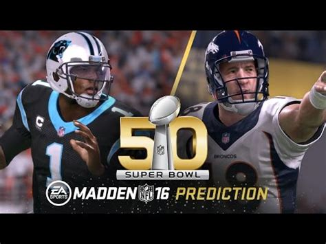 remember  madden predicted  exact score