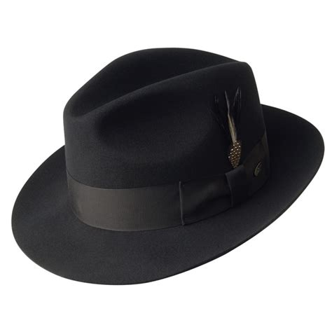 Bailey Gangster  Wool Fedora Hat Hatcountry