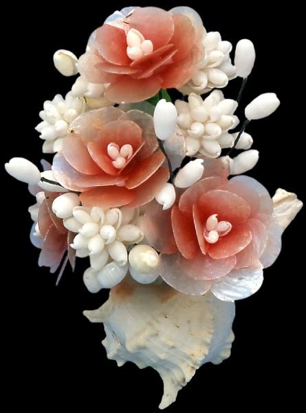 how to make seashell flowers omg so pretty bouquet made from seashells wedding ideas pinterest