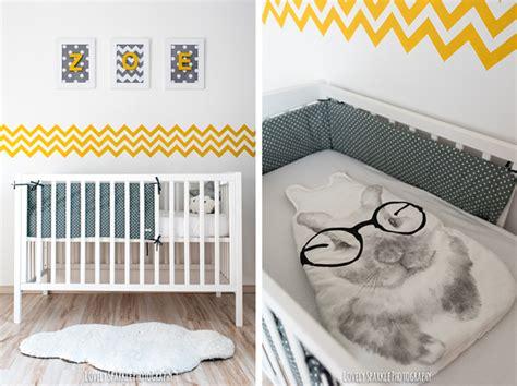 chambre bébé jaune et gris deco chambre garcon gris et jaune
