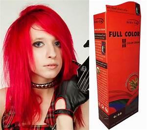 Acheter Coloration Rouge Framboise : hair color permanent hair cream dye punk rock glam red ebay ~ Melissatoandfro.com Idées de Décoration