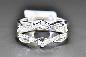 diamond enhancer wrap solitaire engagement ring 1 4 ct 10k With ring enhancers wedding