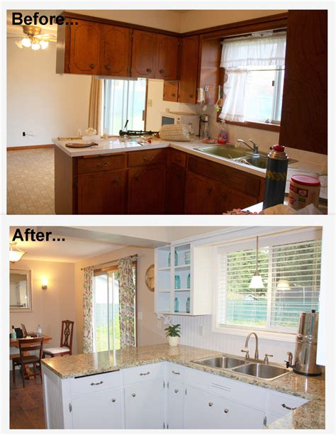 Home Depot Kitchen Before And After by 1960 S Kitchen Makeover Remodel Before And After Hardwood