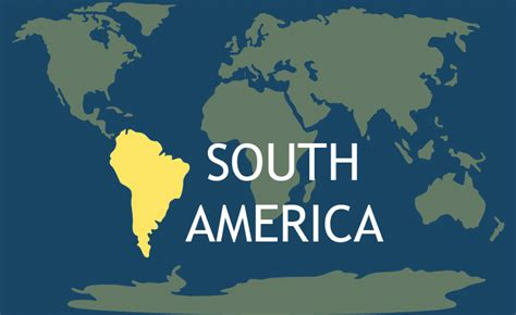 south america continent   continents   world