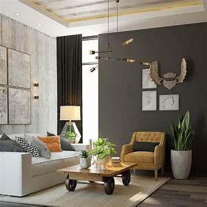 Warm Industrial Interior Design Ideas