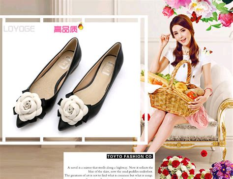 80466 Discount Code by 2016 Sweet Shoes Brand Style Camellia Flowers