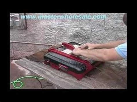 Kobalt Tile Saw Kb7004 by Kobalt Kb7004 Tile Saw How To Real User Review