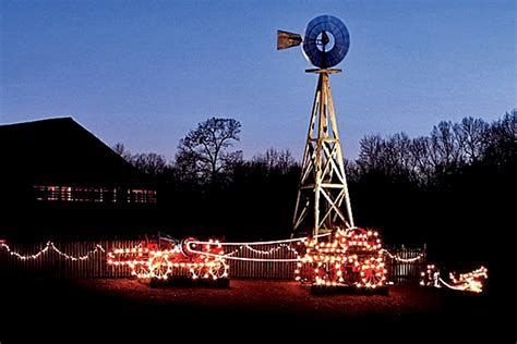 Country Christmas Train at Denton Farm Park