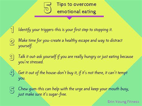 5 Tips To Overcome Emotional Eating  Erin Young Fitness
