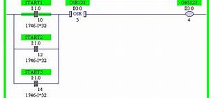 Basic Motors Control Using Ladder Logic