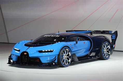 If it comes out for gt5 than i want another laguna seca trip on top gear comparing the real car lap time to the game's. Bugatti Vision Gran Turismo Concept Pays Homage to Le Mans Racers