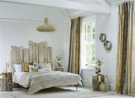 style chambre adulte tête de lit bois flotté une décoration romantique qui